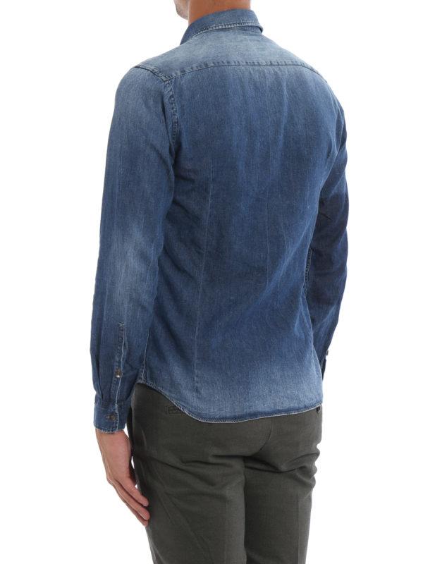 Hemd - Jeansblau shop online: DONDUP