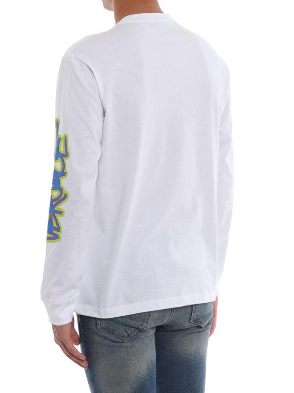 T-Shirt - Weiß shop online: VERSACE