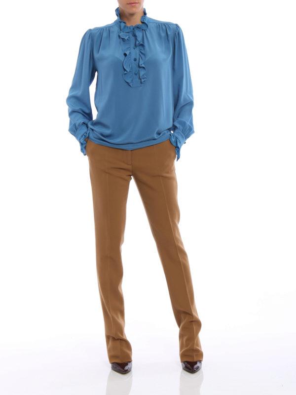 Bluse - Hellblau shop online: Stella Mccartney