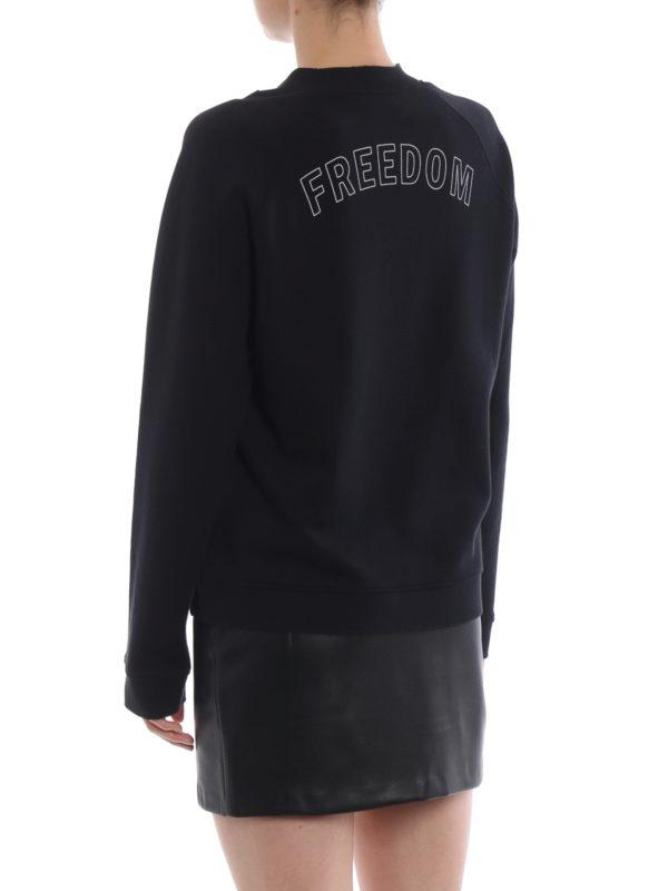 Sweatshirt - Schwarz shop online: VALENTINO RED