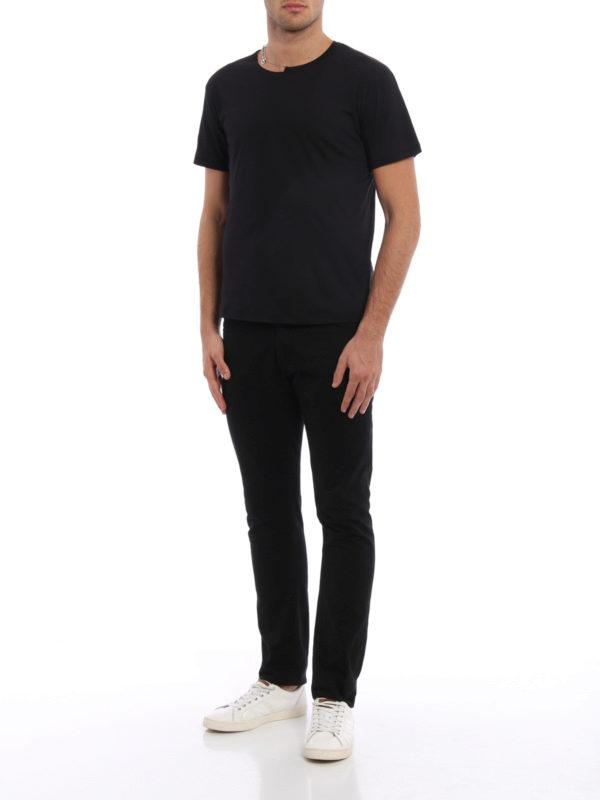 T-Shirt - Einfarbig shop online: Valentino