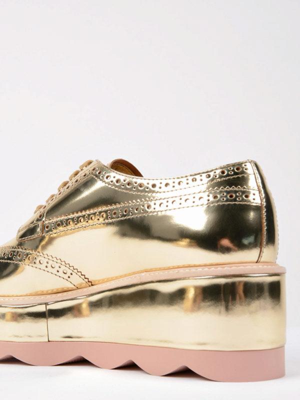 Schnürschuhe - Gold shop online: Prada