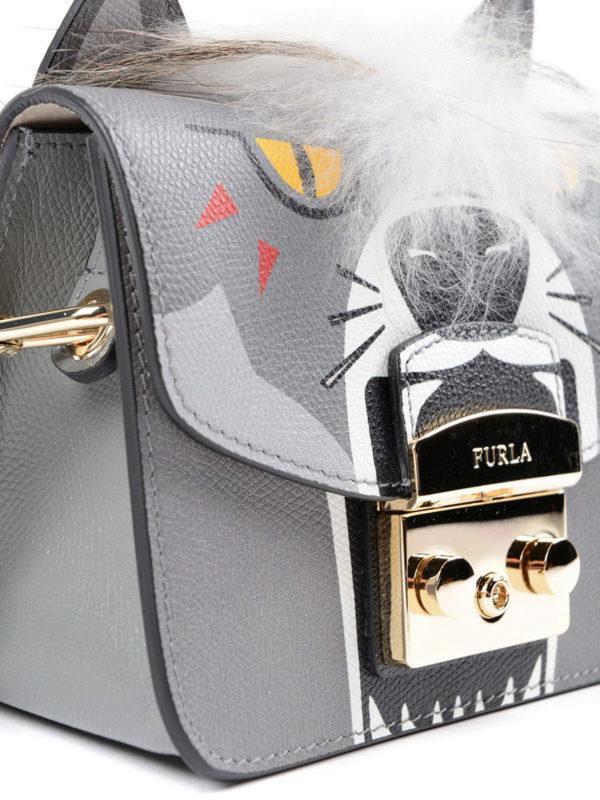 Umhängetasche - Grau shop online: Furla