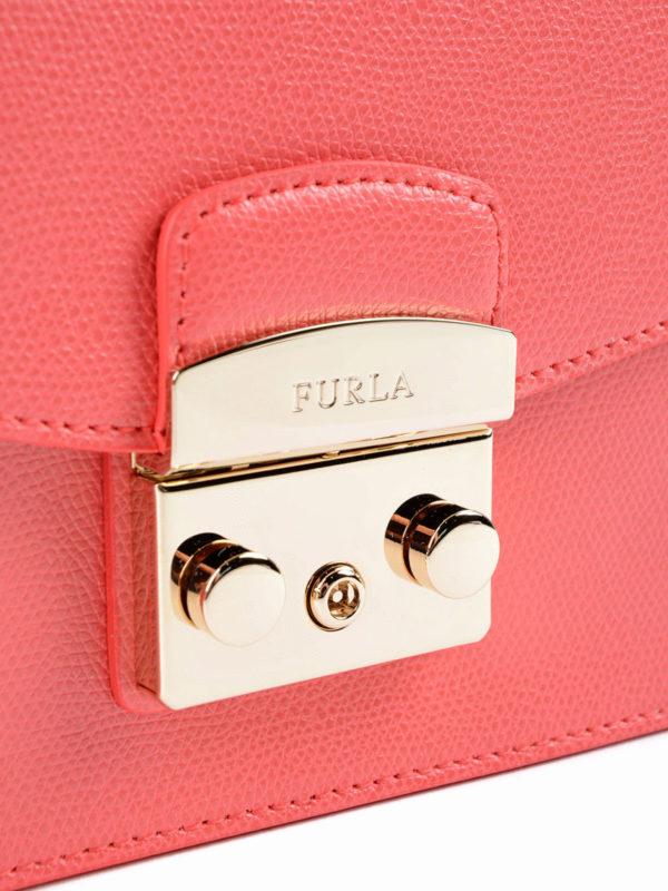 Schultertasche - Pink shop online: Furla