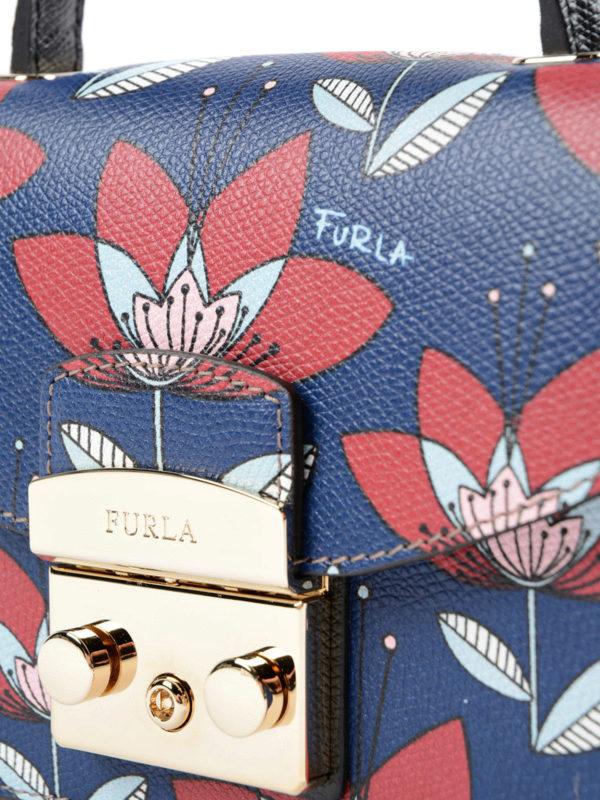 Umhängetasche - Blau shop online: Furla