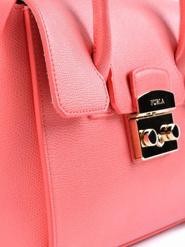 Bowling Tasche - Pink shop online: Furla