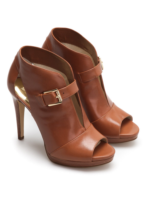 Michael Kors: ankle boots - Isabella leather pump