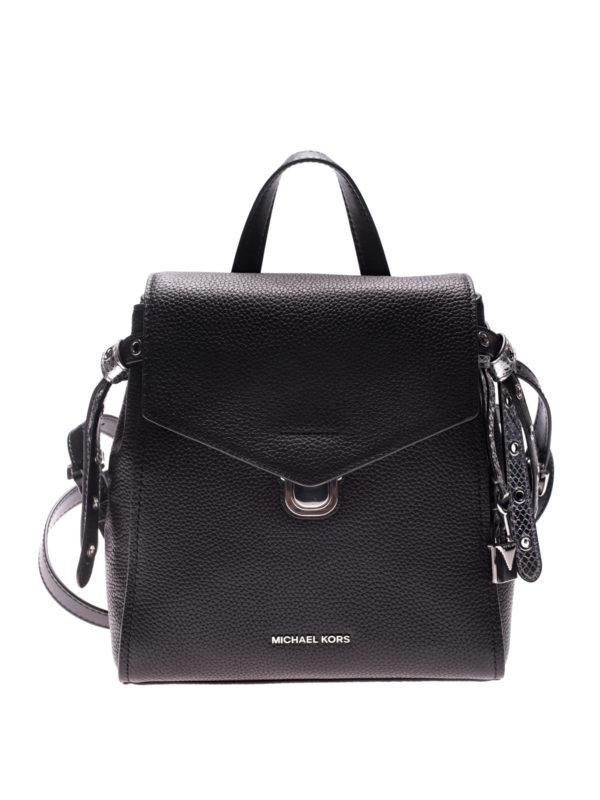 MICHAEL KORS: backpacks - Bristol leather backpack