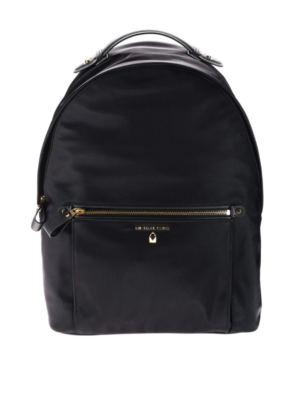 30f4aefbda89 Michael Kors - Kelsey black nylon backpack - backpacks - 30F7GO2B7C 001