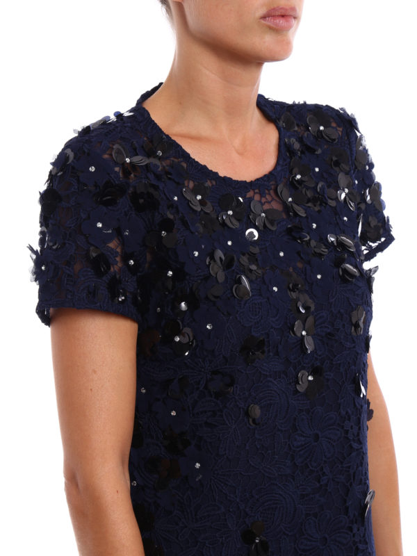 MICHAEL KORS buy online Embellished lace and tulle dress