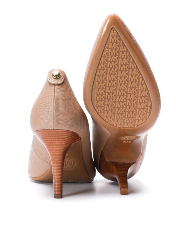Michael Kors buy online Flex leather mid pumps