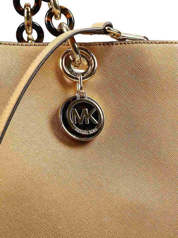 Michael Kors buy online Large Cyinthia saffiano satchel