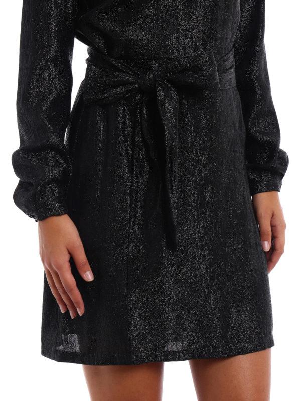 Michael Kors buy online Shimmering long sleeve dress