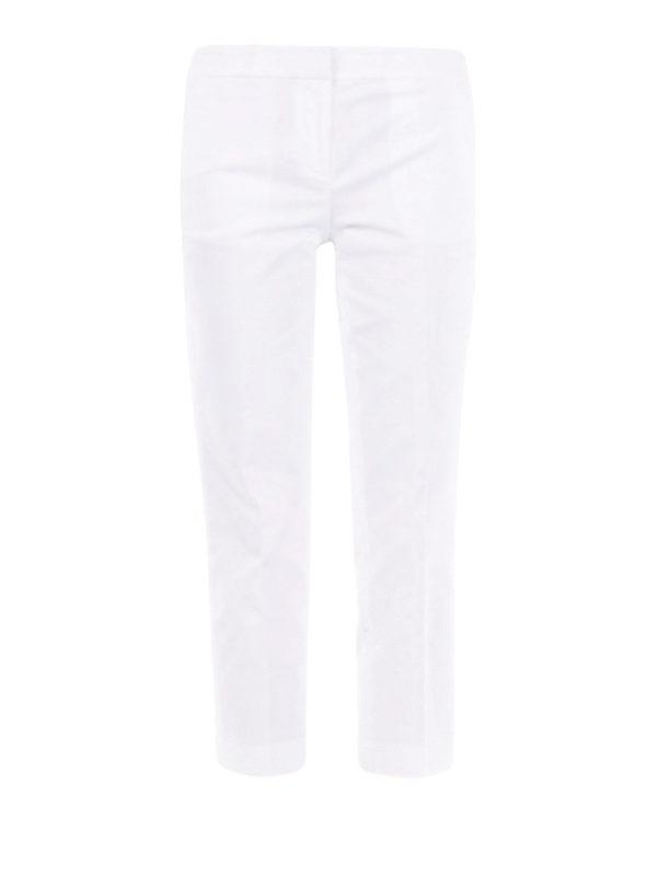 MICHAEL KORS: Pantalones casual - Pantalón Casual - Blanco