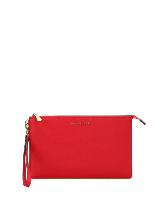 MICHAEL KORS: Clutches - Clutch - Rot