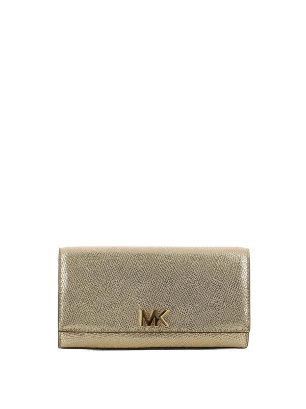MICHAEL KORS: Clutches - Clutch - Gold