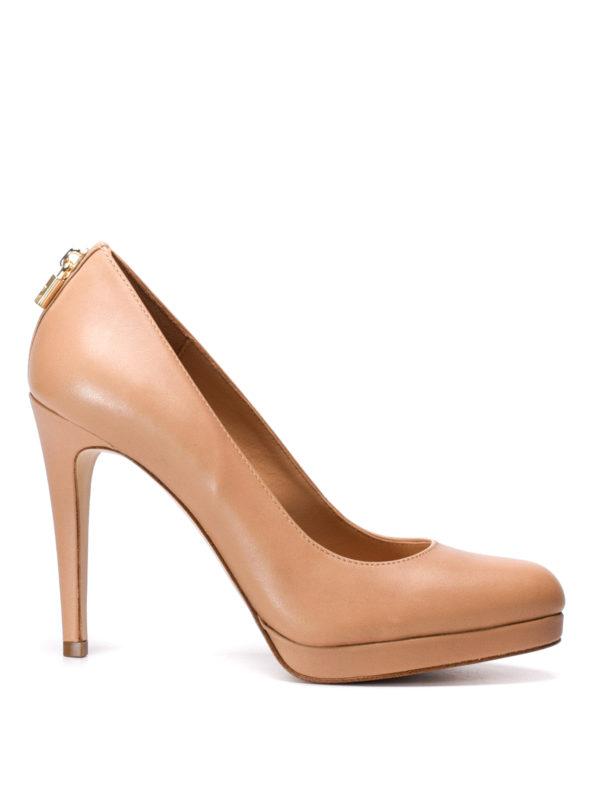 Michael Kors: court shoes - Antoinette leather platform pumps
