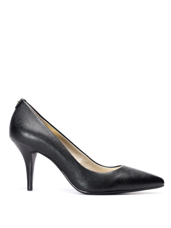 Michael Kors: court shoes - Flex leather mid pumps