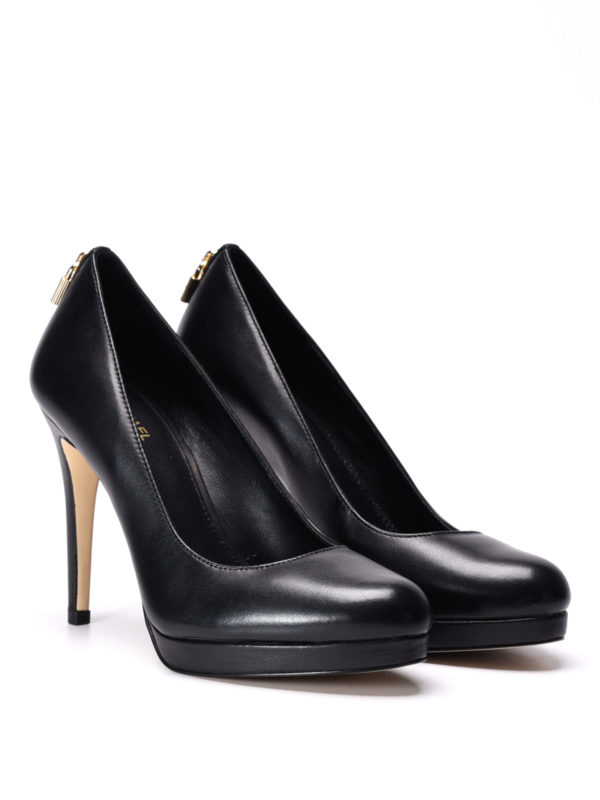 Michael Kors: court shoes online - Antoinette leather platform pumps