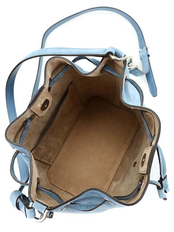 Michael Kors Greenwich suede bucket bag Bucket bags