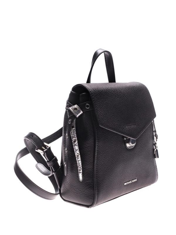 MICHAEL KORS: backpacks online - Bristol leather backpack