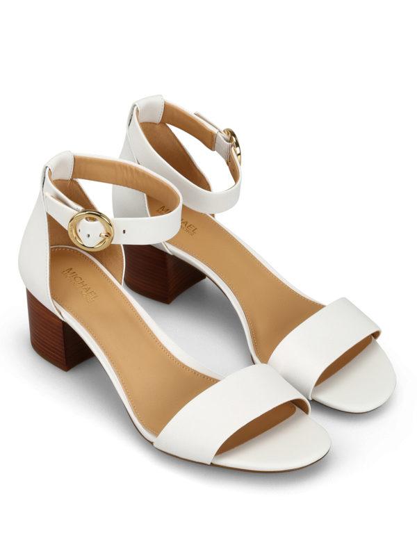 Michael Kors - Lena Flex white leather