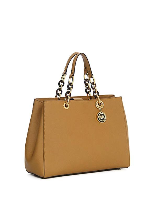 MICHAEL KORS: shoulder bags online - Large Cyinthia saffiano satchel