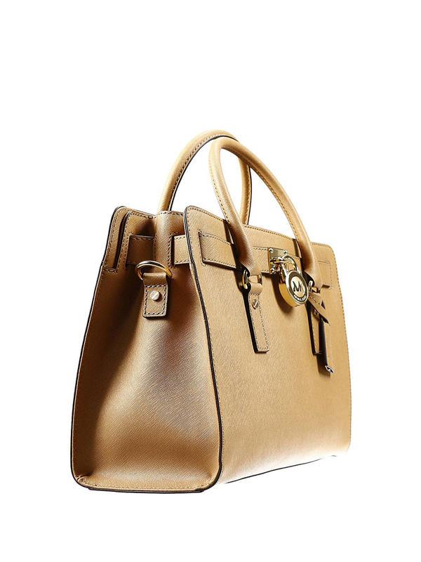 MICHAEL KORS: totes bags online - Large Hamilton satchel