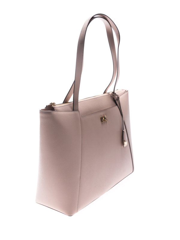 Michael Kors - Maddie leather shopping bag - totes bags - 30S8GN2T9L ... 1370500b11660