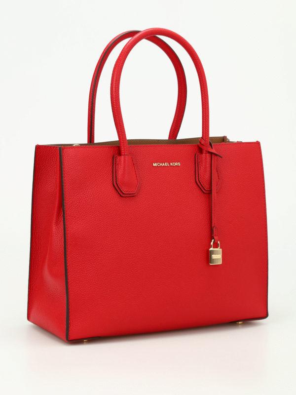 MICHAEL KORS: Handtaschen online - Shopper - Rot