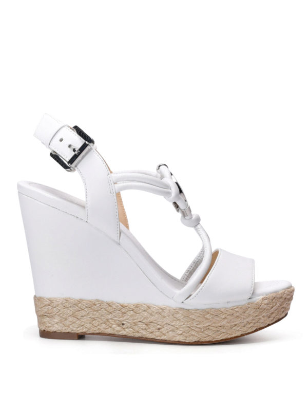 Michael Kors: sandals - Kinley wedge sandals