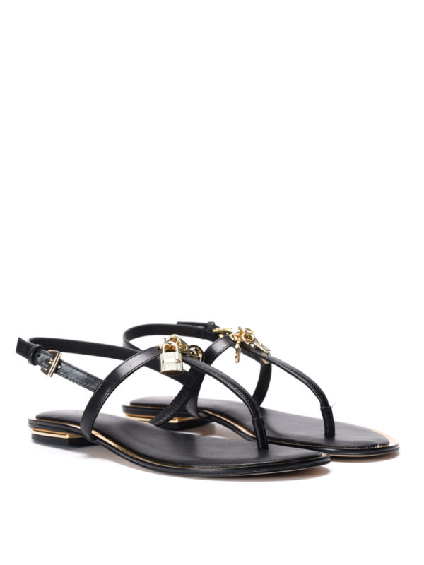Michael Kors: sandals online - Suki leather thong sandals