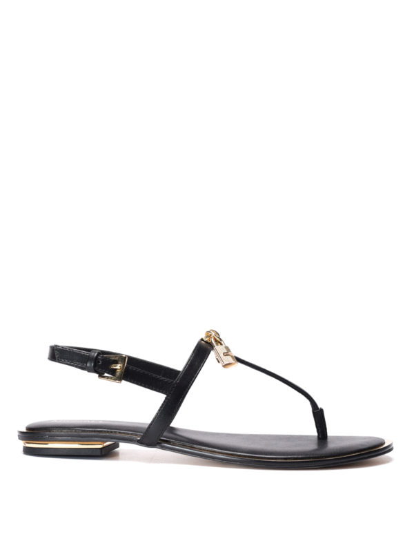 Michael Kors: sandals - Suki leather thong sandals