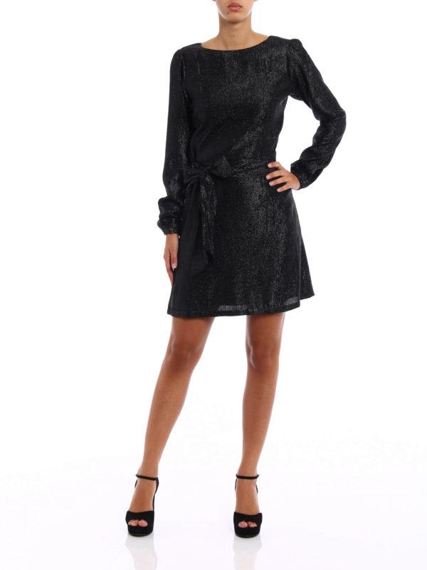 Michael Kors: short dresses online - Shimmering long sleeve dress