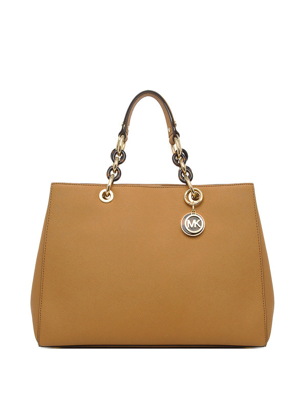 Michael Kors: shoulder bags - Large Cyinthia saffiano satchel