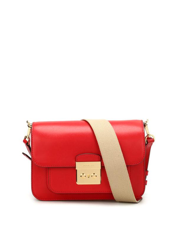 MICHAEL KORS: Schultertaschen - Schultertasche - Rot