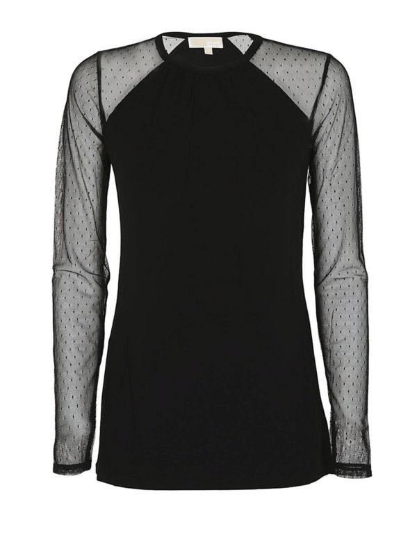 MICHAEL KORS: Camisetas - Camiseta - Negro