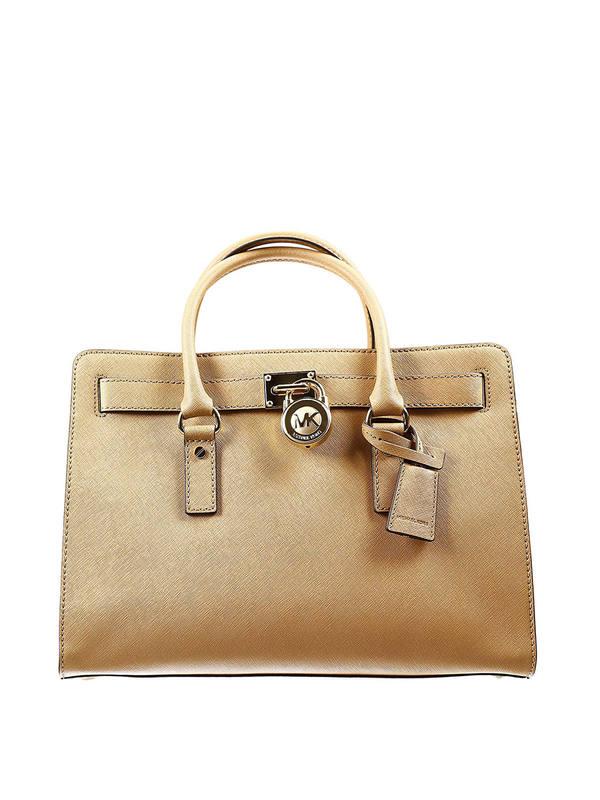 Michael Kors: totes bags - Large Hamilton satchel