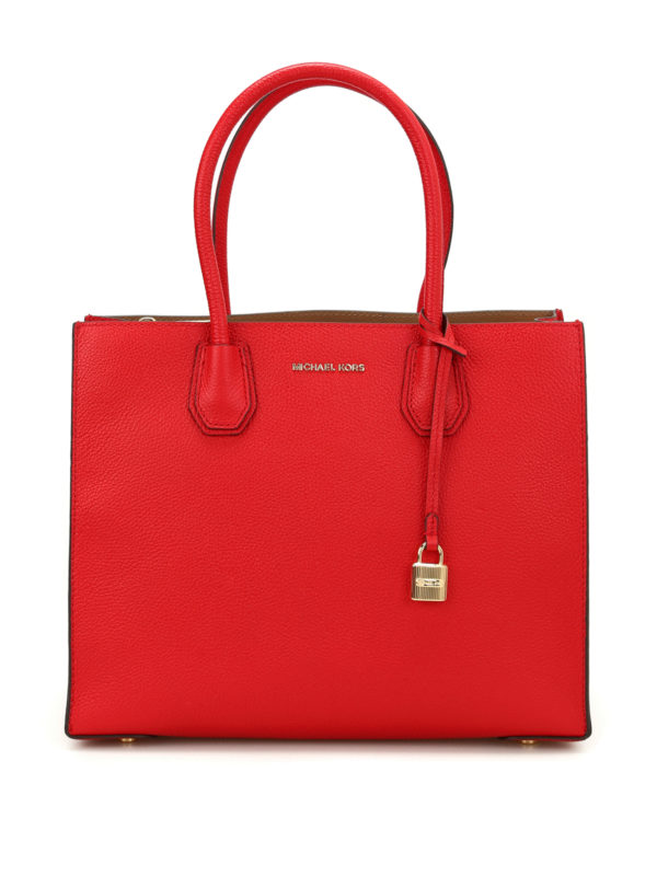 MICHAEL KORS: Handtaschen - Shopper - Rot
