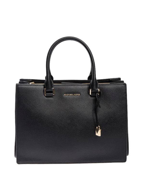 Michael Kors: Handtaschen - Shopper - Schwarz