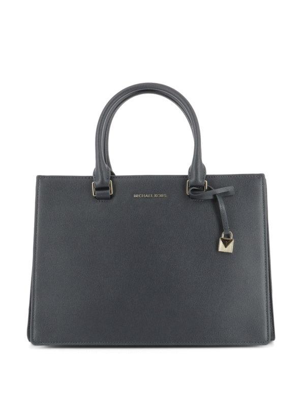 MICHAEL KORS: Handtaschen - Shopper - Blau
