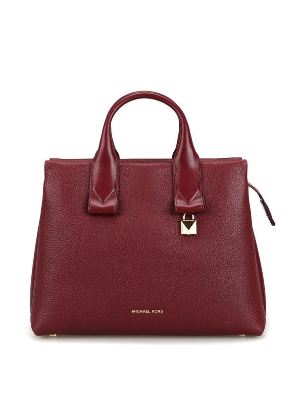 Michael Kors Shopper Dunkelrot Handtaschen 30F8GX3S3L610