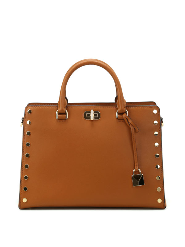 Michael Kors: Handtaschen - Shopper - Hellbraun