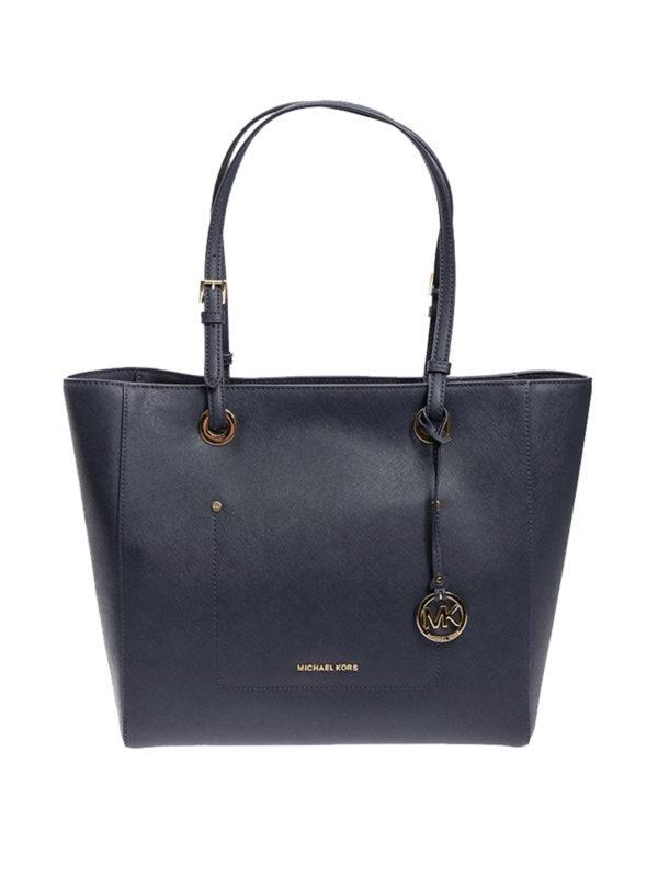 MICHAEL KORS: Handtaschen - Shopper - Dunkelblau