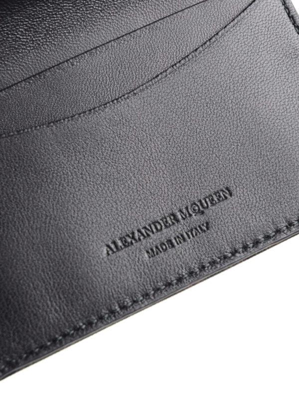 Portemonnaie - Schwarz shop online: Alexander Mcqueen