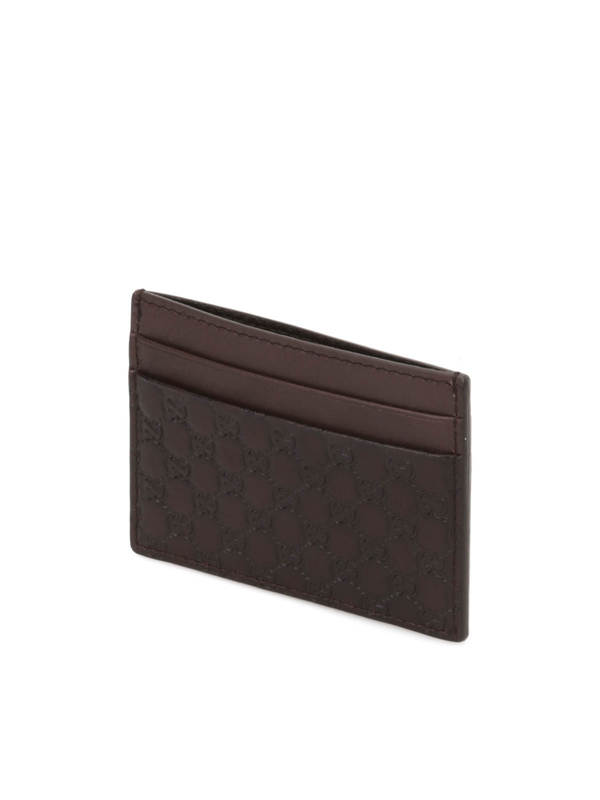 Microguccissima card case shop online: Gucci