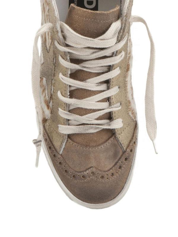 Golden Goose - Mid Star zebra sneakers
