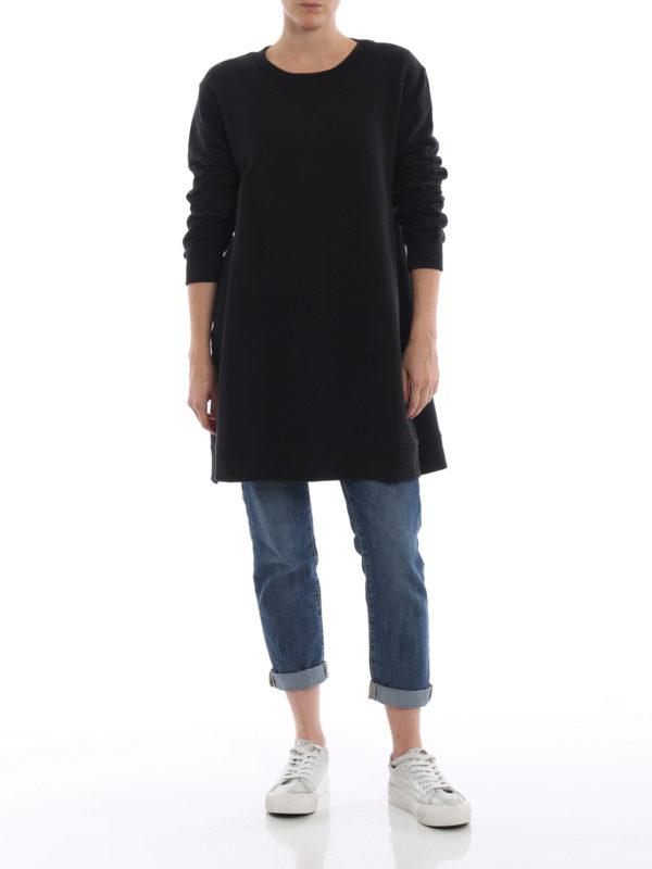 MM6 MAISON MARGIELA: Sweatshirts und Pullover online - Sweatshirt - Schwarz