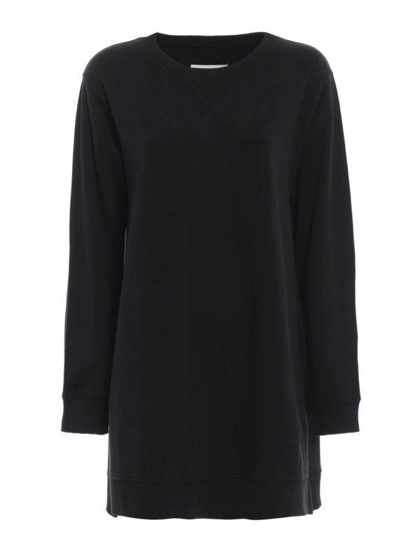 MM6 MAISON MARGIELA: Sweatshirts und Pullover - Sweatshirt - Schwarz