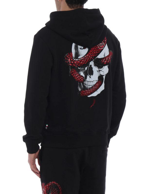 Sweatshirt - Schwarz shop online: PHILIPP PLEIN